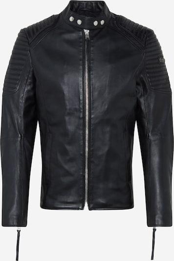 tigha Lederjacke  'Esteban' in schwarz, Produktansicht