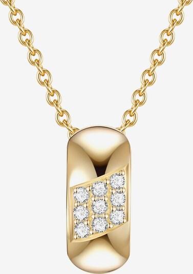 Rafaela Donata Silberkette in goldgelb / weiß, Produktansicht