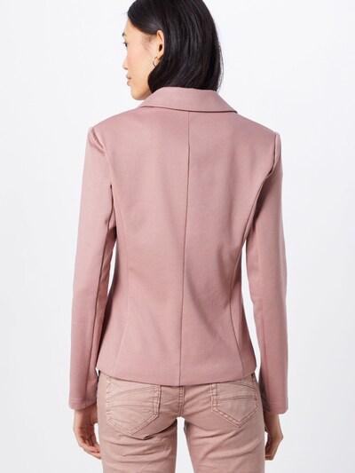 Cream Blazer 'Anett' | rosé barva: Pogled od zadnje strani