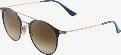 Ray-Ban Sonnenbrille in nachtblau / braun, Produktansicht