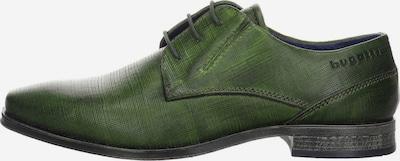 bugatti Schnürschuhe in grün, Produktansicht