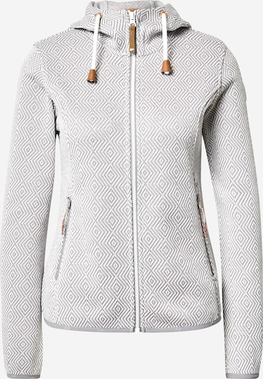 ICEPEAK Veste en polaire fonctionnelle 'EP ADRIAN' en marron / gris clair / blanc, Vue avec produit