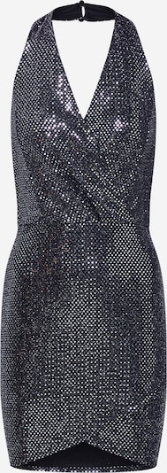 Boohoo Φόρεμα κοκτέιλ 'Glitter' σε μαύρο / ασημί, Άποψη προϊόντος
