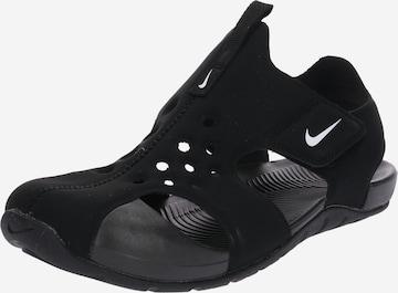Nike Sportswear Sandale 'Sunray Protect 2' in Schwarz