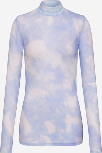 modström T-shirt 'Bay' en bleu / blanc, Vue avec produit