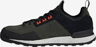 ADIDAS PERFORMANCE Sneaker 'Five Tennie' in dunkelgrün / orangerot / schwarz, Produktansicht