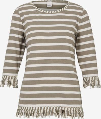 heine Sweat-shirt en beige / noisette, Vue avec produit