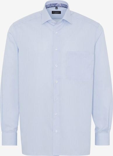 ETERNA Hemd in hellblau / weiß: Frontalansicht