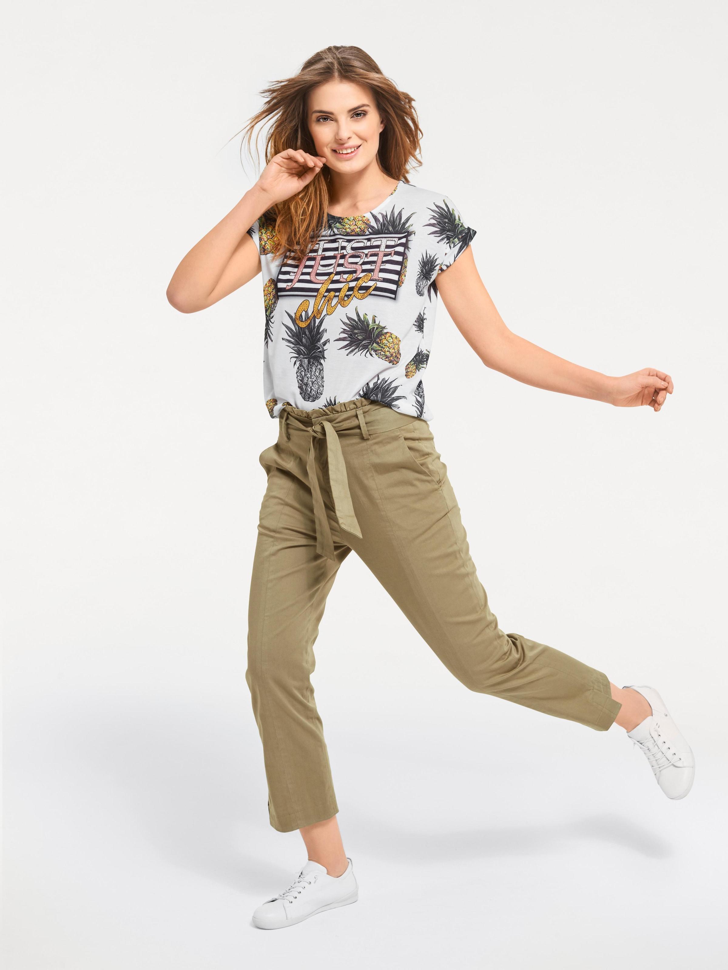 Mischfarben Shirt In Shirt Heine Heine pqGSUzMV