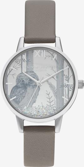 Olivia Burton Uhr in basaltgrau / silber, Produktansicht