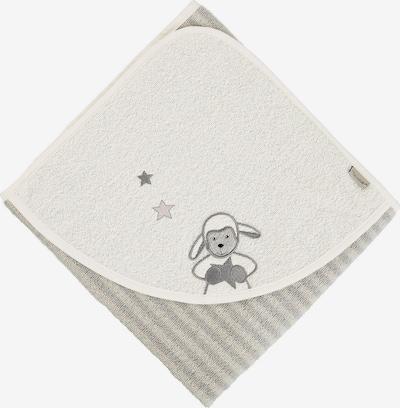 STERNTALER Badetuch 'Stanley' in grau / hellgrau, Produktansicht