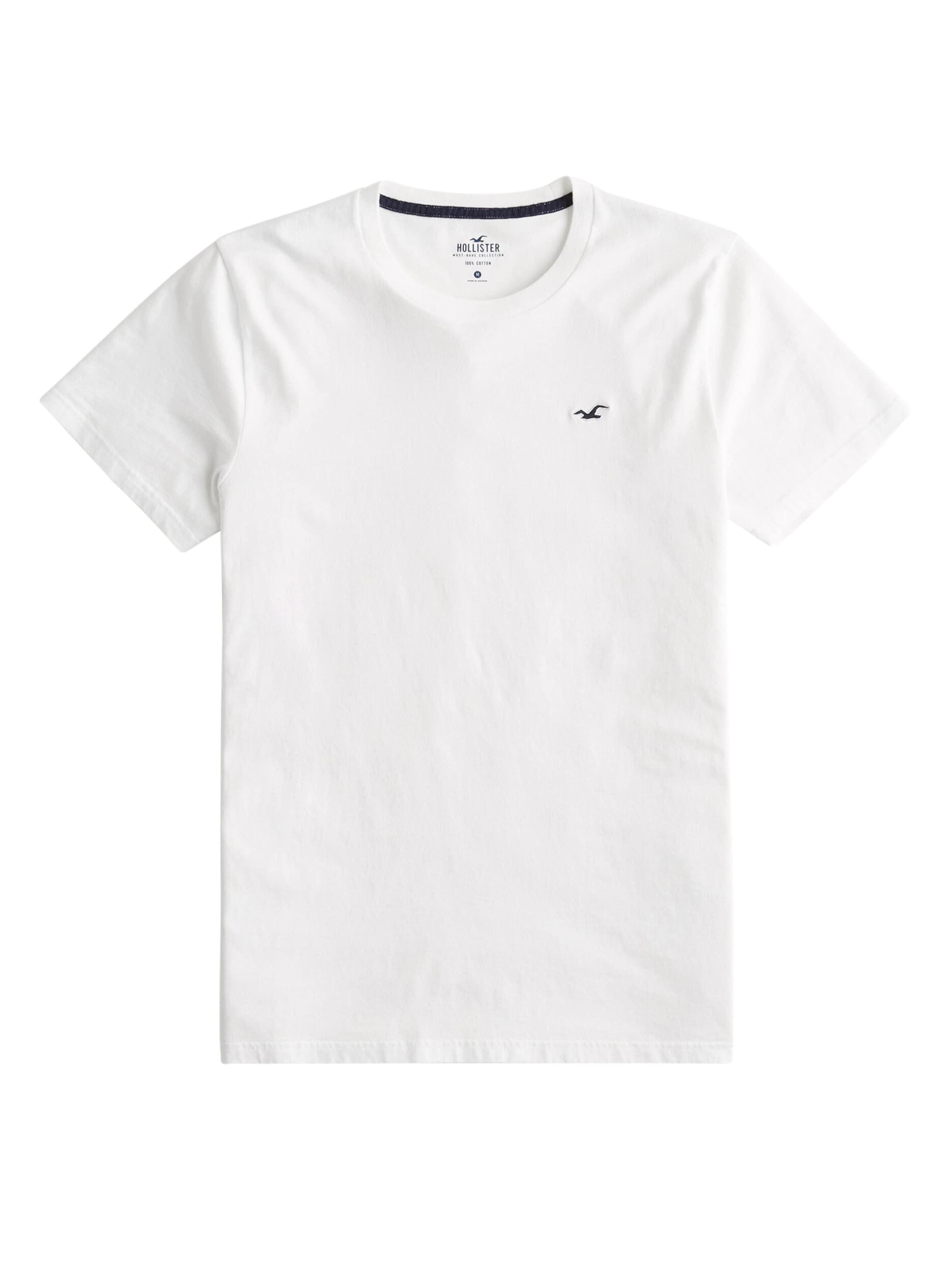 Hollister T shirt Blanc En DH29YWEI