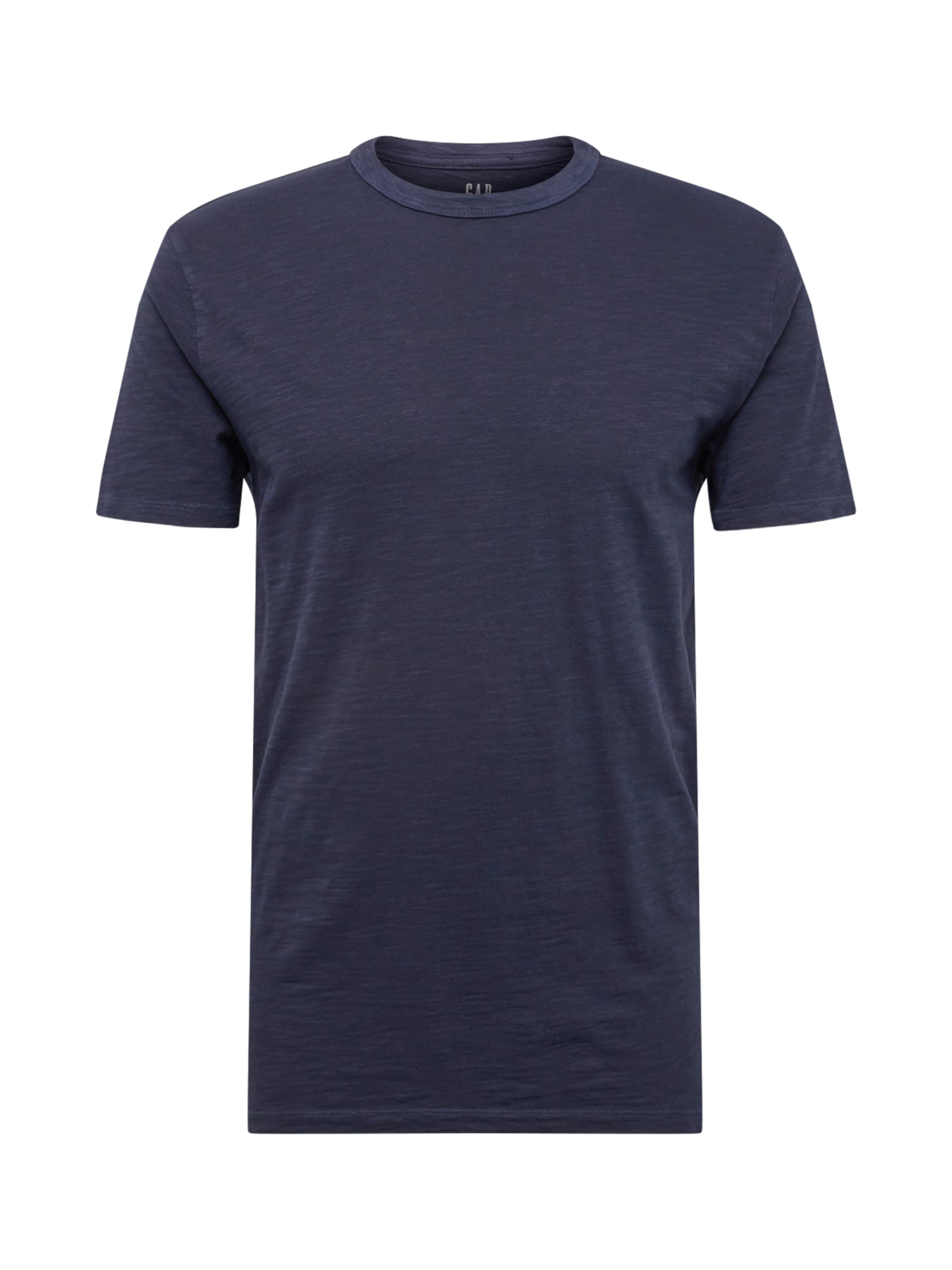 Gap shirt T Bleu Marine 'slub En Solid' j5RA34qcL