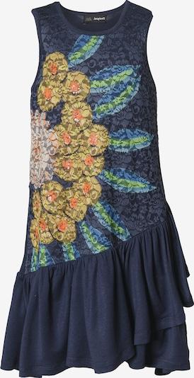 Desigual Kleid in navy / goldgelb / mischfarben, Produktansicht