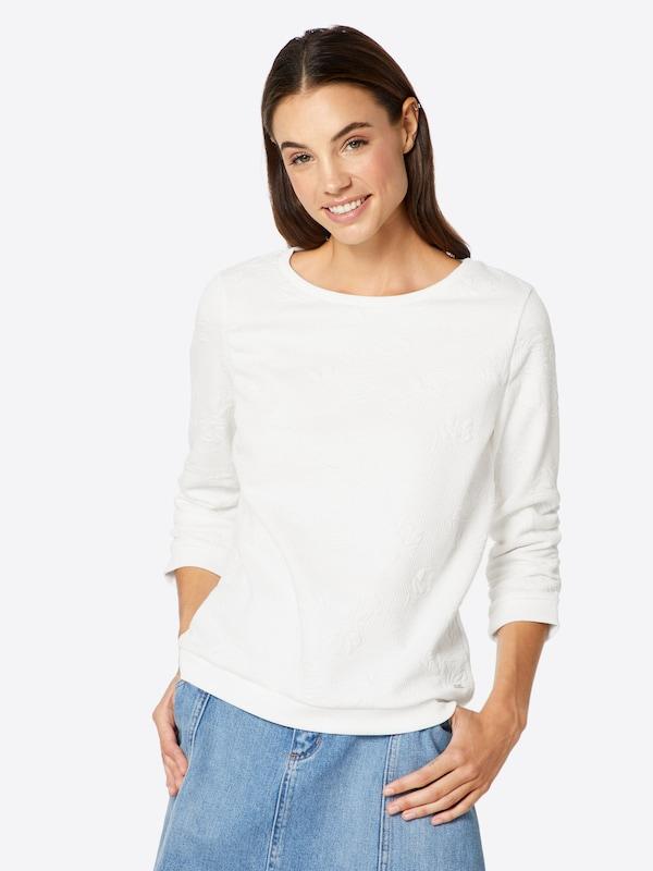 shirt Sweat En Blanc Tom Tailor Denim l51Juc3TFK