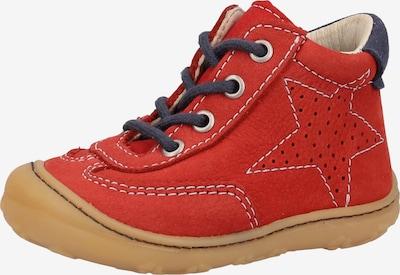 Pepino Halbschuhe in navy / rot, Produktansicht