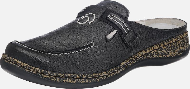 Haltbare Mode Schuhe billige Schuhe RIEKER | Clog mit Klettverschluss Schuhe Mode Gut getragene Schuhe e37c57
