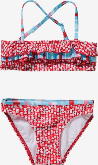 FASHY Bikini in opal / hellpink / rot / weiß, Produktansicht