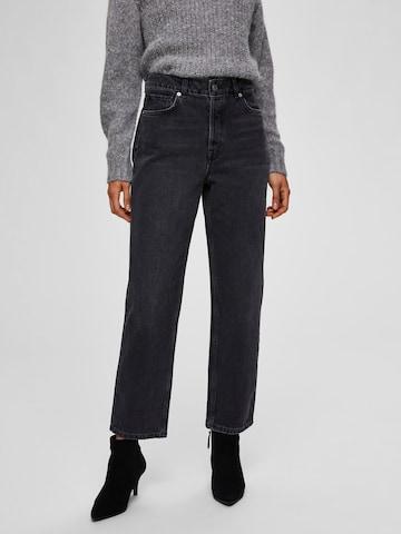 SELECTED FEMME Jeans in Grijs