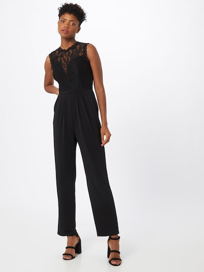 ABOUT YOU Jumpsuit 'Lumi' i svart, På modell