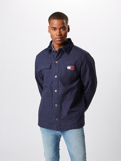 Tommy Jeans Jacke 'WORKWEAR JACKET' in dunkelblau, Modelansicht