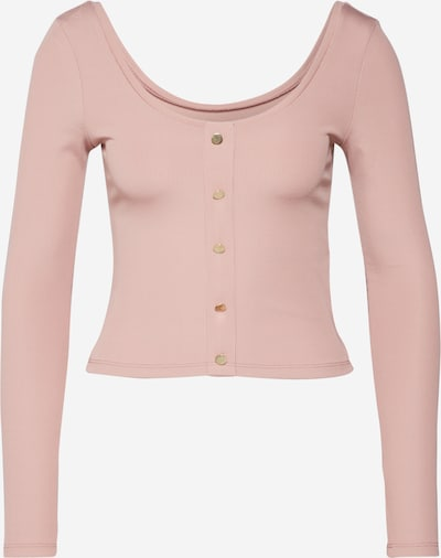 IVYREVEL Shirt 'SCOOP NECK RIB TOP' in rosa, Produktansicht