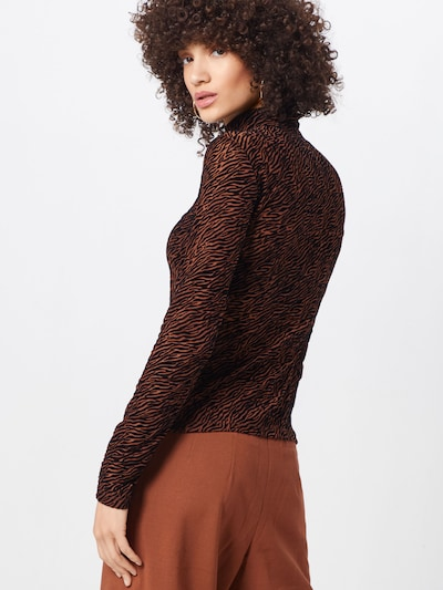 VERO MODA Koszulka w kolorze brązowym: Widok od tyłu
