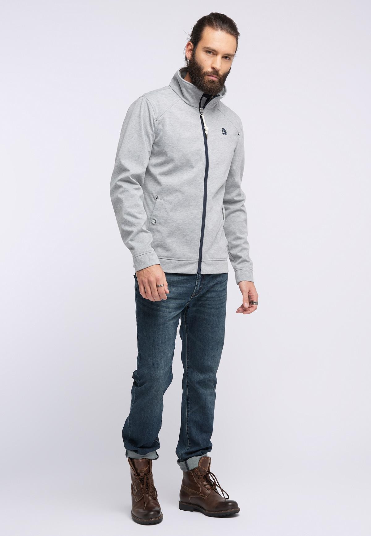 Bestbewertet Männer Bekleidung Schmuddelwedda Anorak in grau / schwarz Verkaufsschlager
