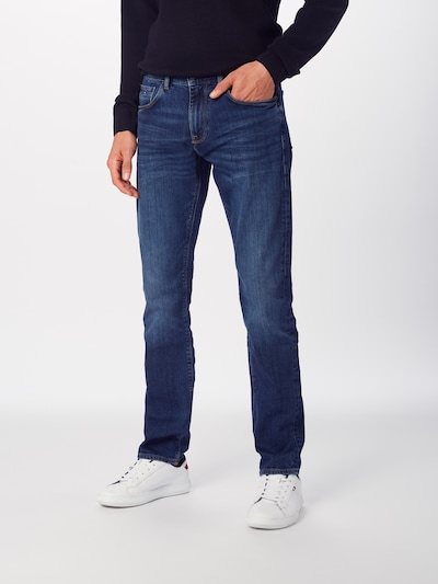TOMMY HILFIGER Jeans 'CORE DENTON STRAIGHT' in blue denim, Modelansicht