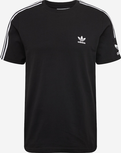 ADIDAS ORIGINALS Shirt 'LOCK UP TEE' in schwarz / weiß, Produktansicht