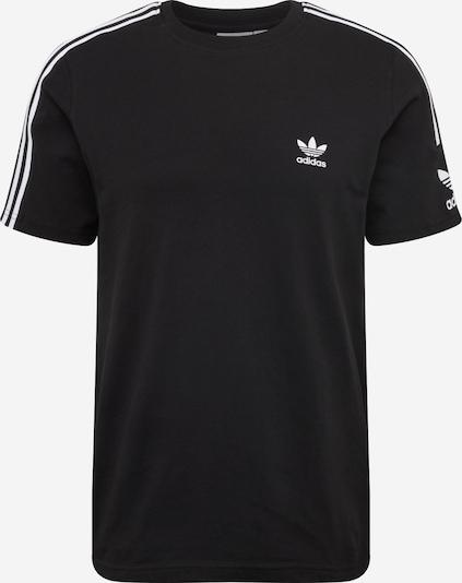 ADIDAS ORIGINALS Koszulka 'LOCK UP TEE' w kolorze czarny białym