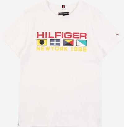 TOMMY HILFIGER Tričko 'Flag Sailing' - bílá, Produkt