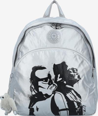 KIPLING Rucksack 'Paola' in schwarz / silber, Produktansicht