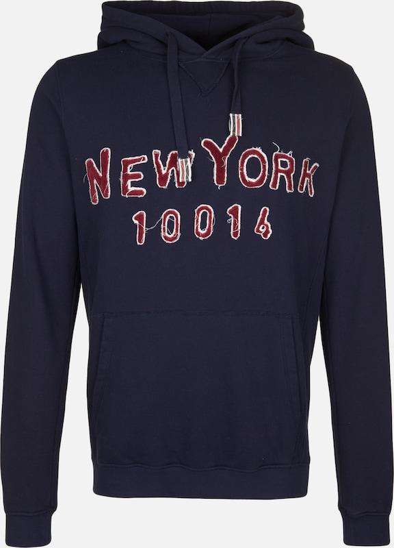 BETTER RICH Kapuzensweatshirt 'HOODY TAPE NY' in blau  Großer Rabatt