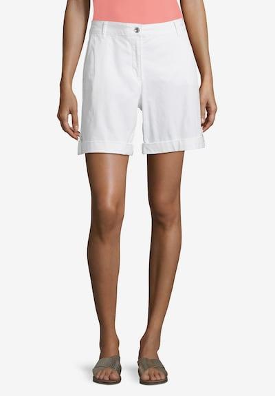 Betty Barclay Sommerhose mit Eingrifftaschen in weiß: Frontalansicht