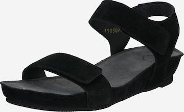 Ca'Shott Sandale in Schwarz