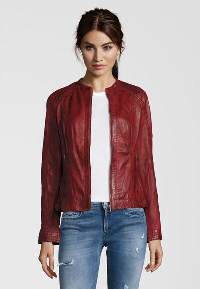 7ELEVEN Lederjacke 'VANESSA' in rot, Produktansicht