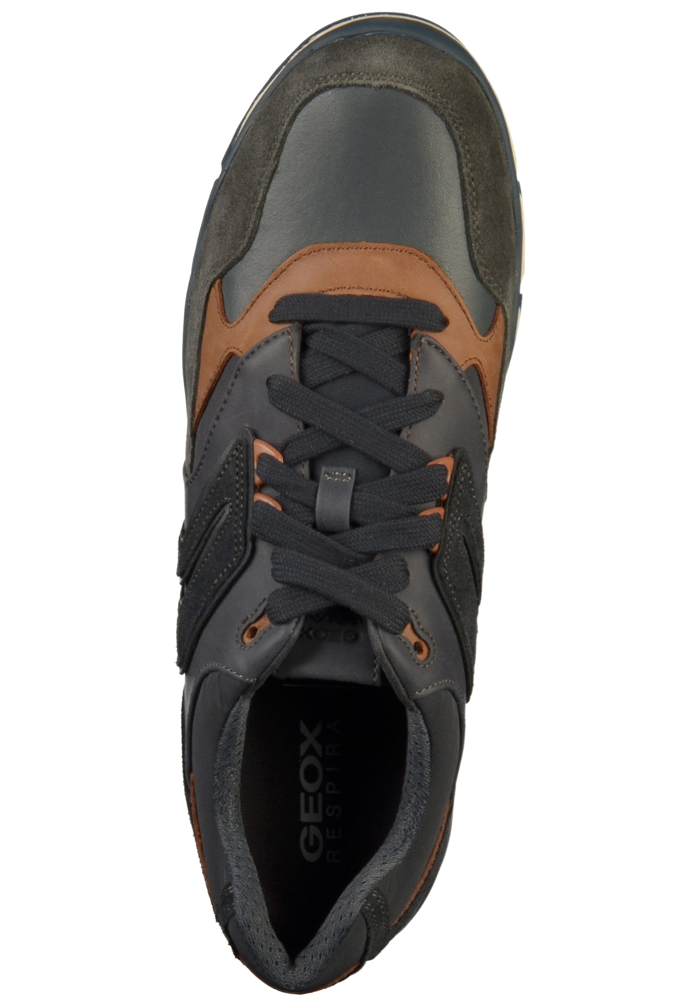 NavyHellbraun Geox Sneaker In NavyHellbraun In Sneaker In Sneaker Geox Oliv Geox Oliv nO80wkPX