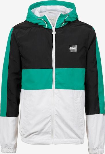 Iriedaily Jacke 'Prime' in grün / schwarz / weiß, Produktansicht