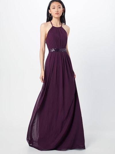 Vakarinė suknelė iš STAR NIGHT , spalva - purpurinė: Vaizdas iš priekio