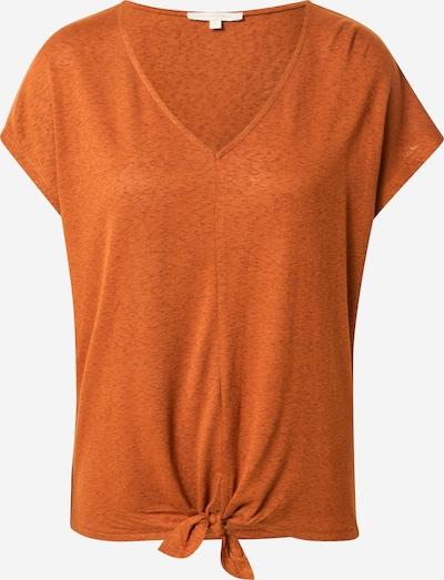 TOM TAILOR DENIM T-Shirt in braun, Produktansicht