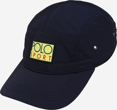 POLO RALPH LAUREN Cap in navy / gelb, Produktansicht
