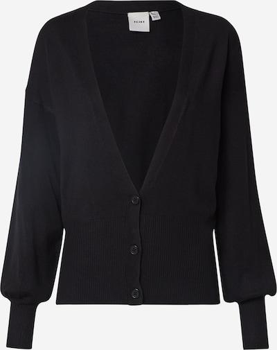 ICHI Strickjacke 'IHMAFA CA3' in schwarz, Produktansicht