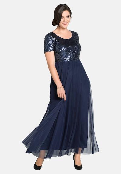 Rochie de seară SHEEGO pe albastru marin, Vizualizare model