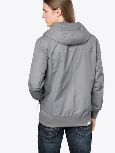 Ragwear Übergangsjacke 'Perci' in grau / weiß: Rückansicht