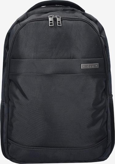 D&N Rucksack in schwarz, Produktansicht