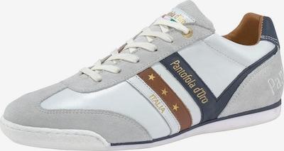 PANTOFOLA D'ORO Schnürschu 'Vasto Uomo Low' in beige / blau / gold / rot / weiß, Produktansicht