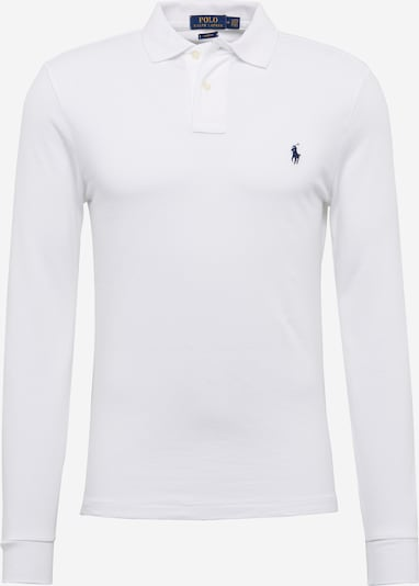 POLO RALPH LAUREN Shirt 'LSKCSLIMM2-LONG SLEEVE-KNIT' in de kleur Wit, Productweergave