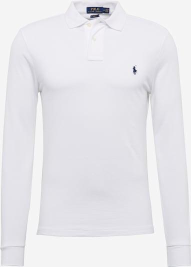 POLO RALPH LAUREN Poloshirt 'LSKCSLIMM2-LONG SLEEVE-KNIT' in weiß, Produktansicht