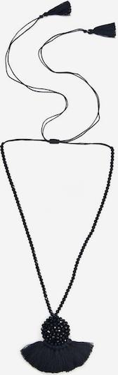 COLLEZIONE ALESSANDRO Kette 'Fächer, C2696A - F01' in schwarz, Produktansicht